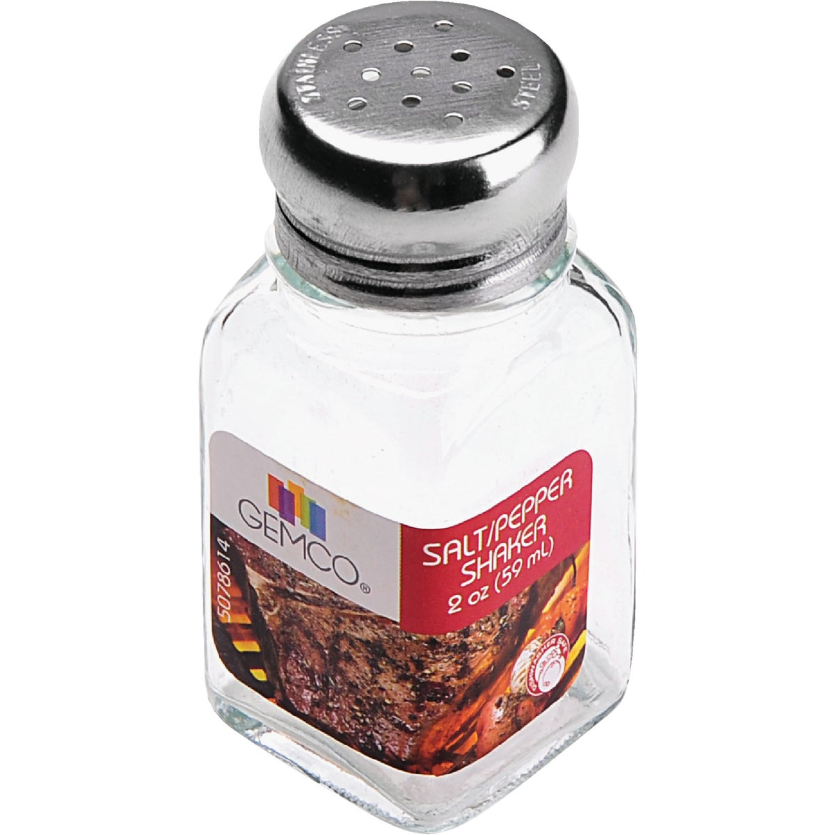 2OZ SALT/PEPPER SHAKER