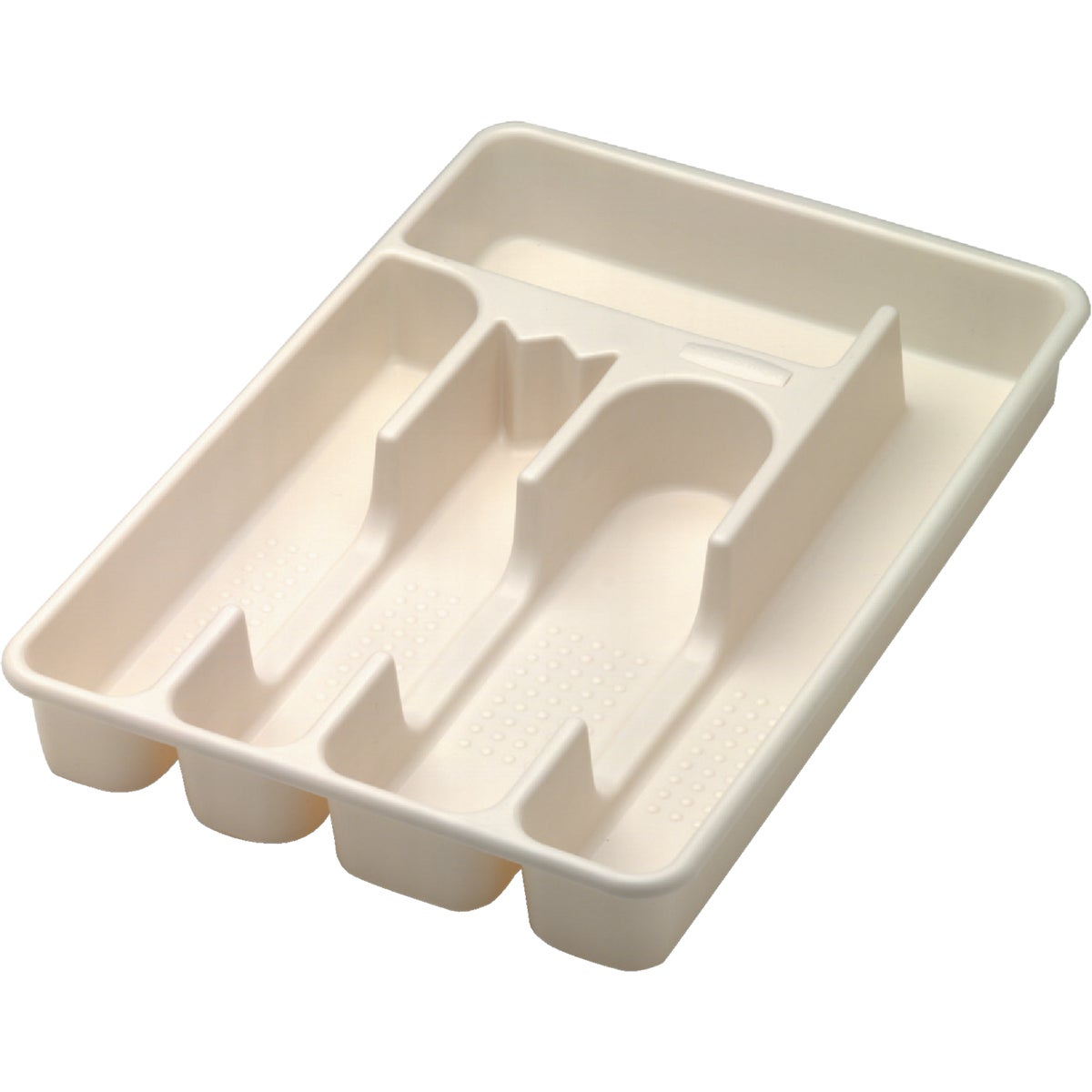 SMALL BSQ CUTLERY TRAY - 2919-RD-BISQU by Rubbermaid Home
