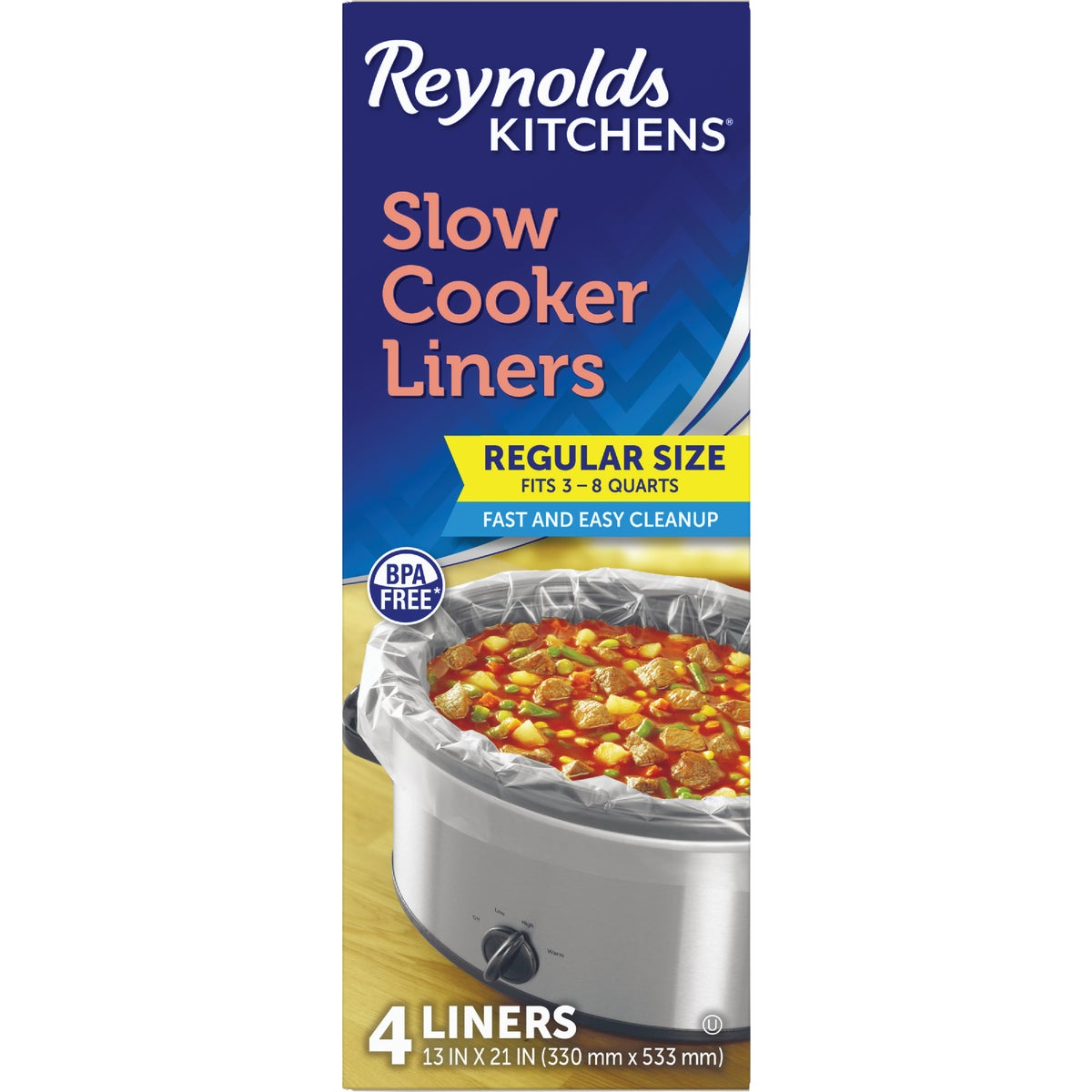 SLOW COOKER LINERS - 00504 by Reynolds Pkg. Group