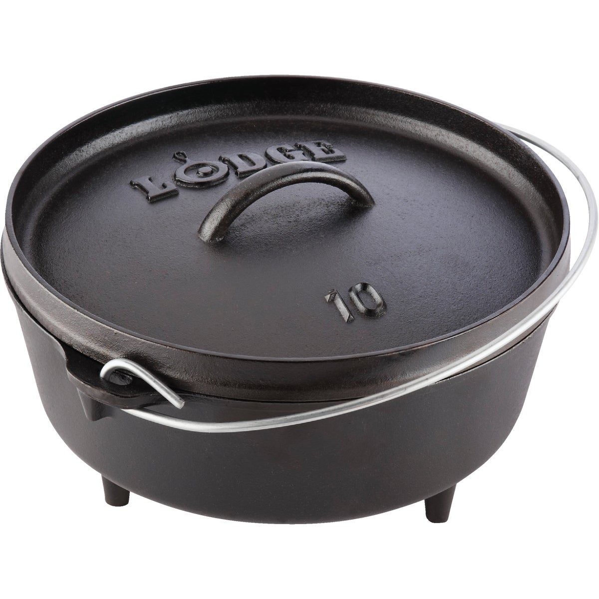 4QT CAMP OVEN - L10C03 by Lodge Mfg Co