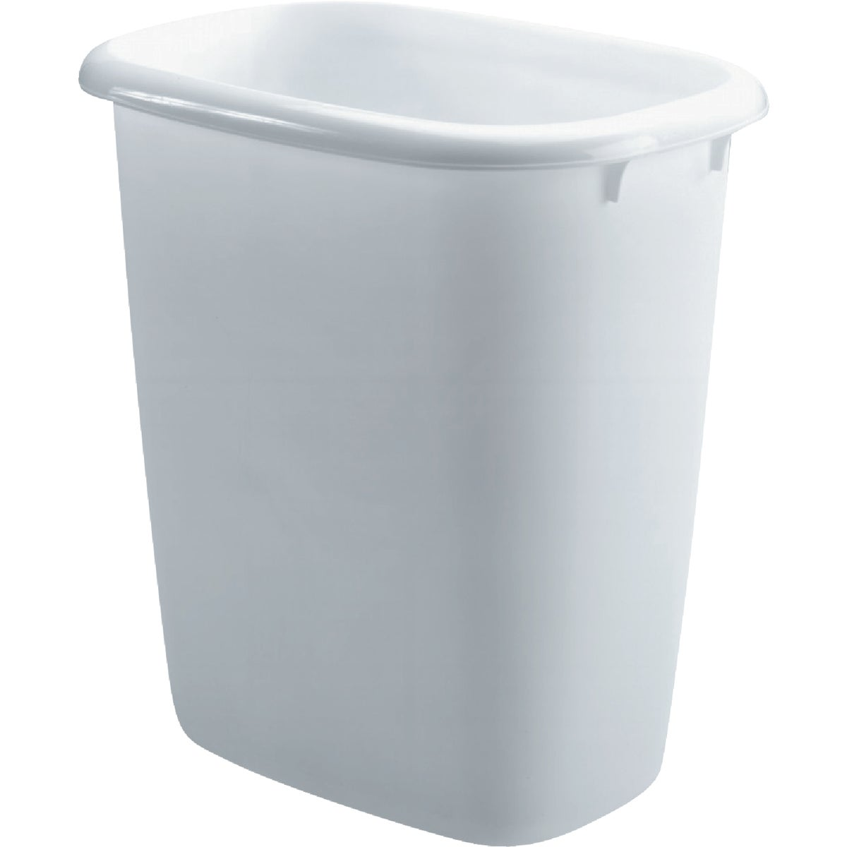 15QT WHITE WASTEBASKET - 295800-WHT by Rubbermaid Home