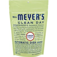 Mrs Meyers Clean Day LEMON DISHWASHING PACKS 14264