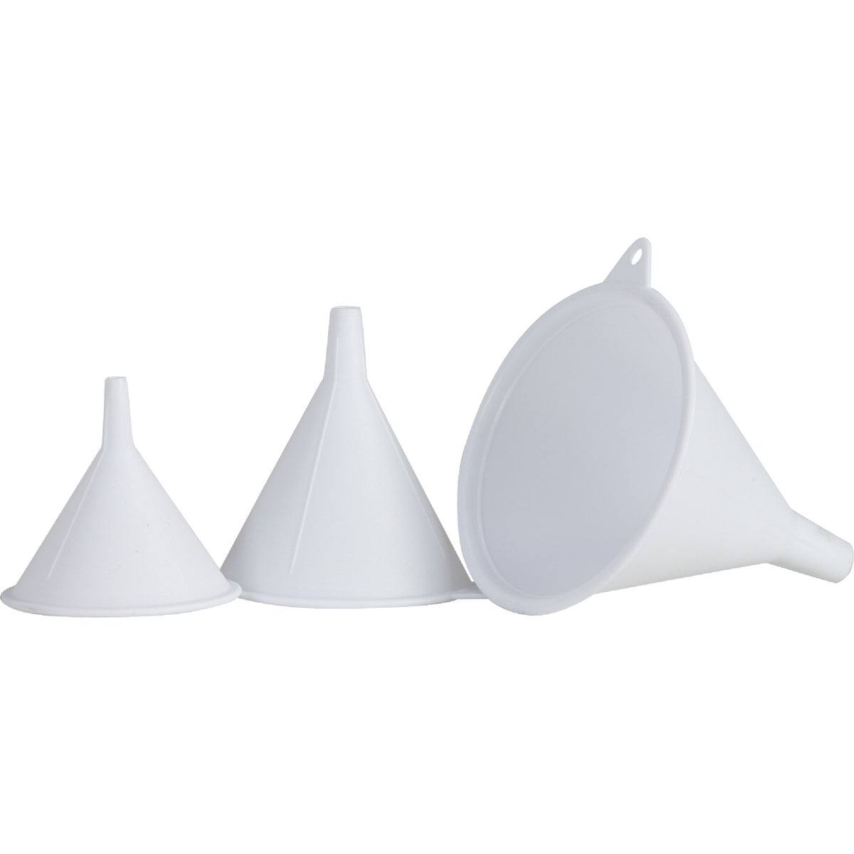 3PC PLASTIC FUNNEL