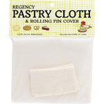 Pastry Cloth And Rolling Pin Cover Set.