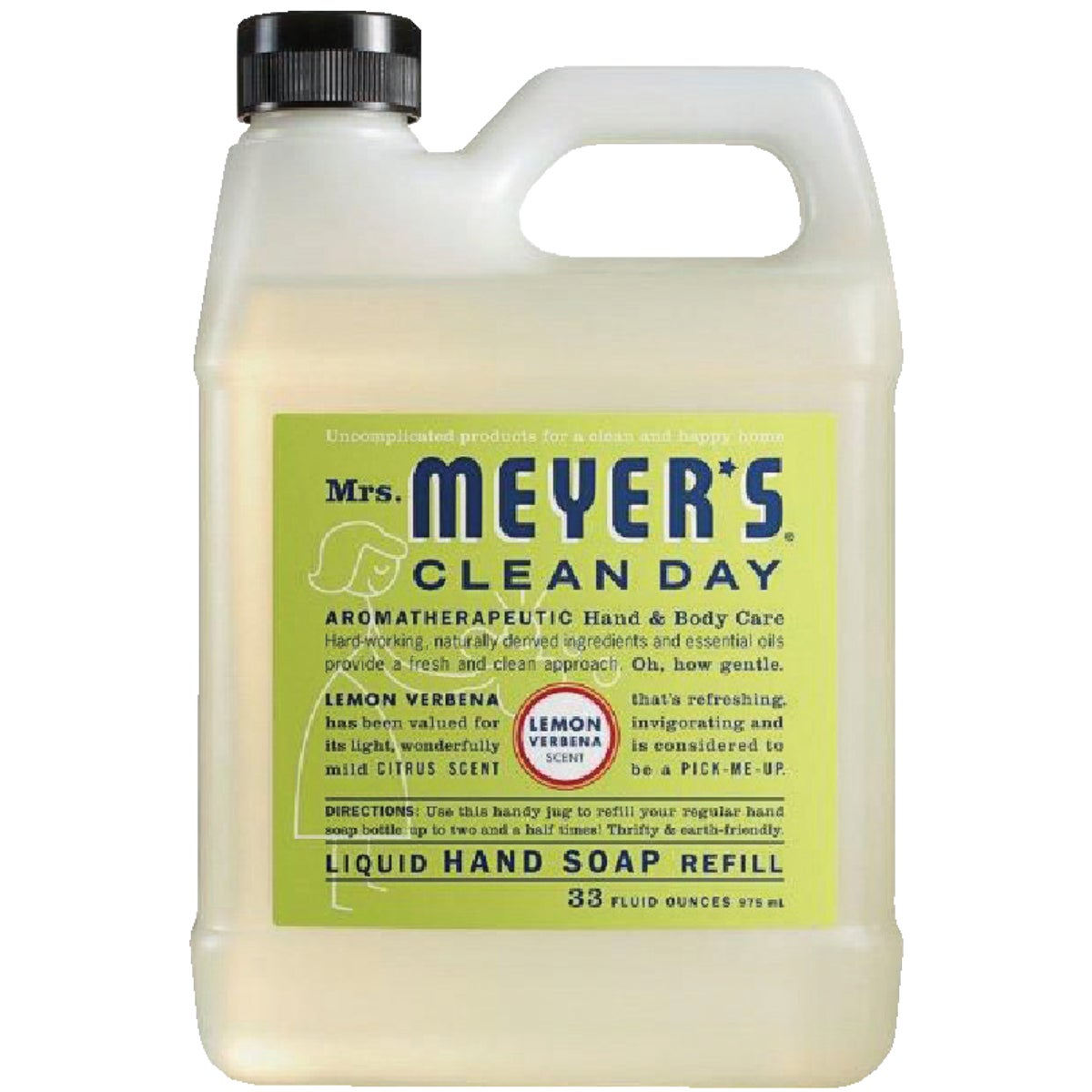 33OZ LEMON LIQ HAND SOAP - 12163 by Mrs Meyers Clean Day
