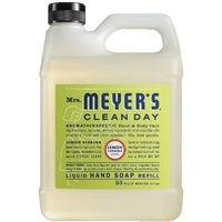 Mrs Meyers Clean Day 34OZ LEMON LIQ HAND SOAP 14261