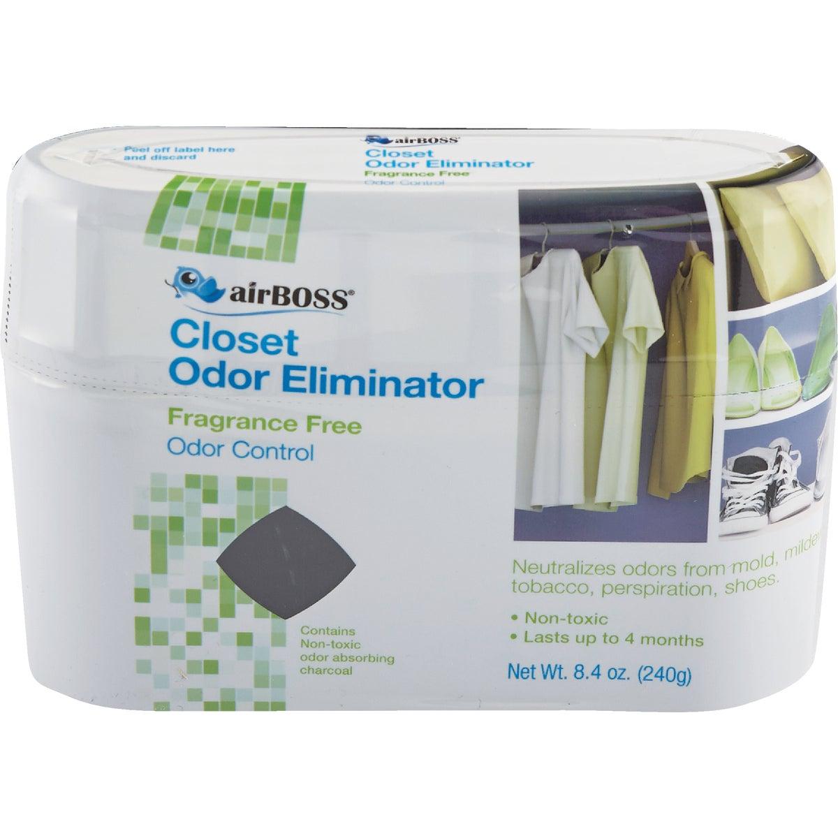 airBoss Closet Deodorizer