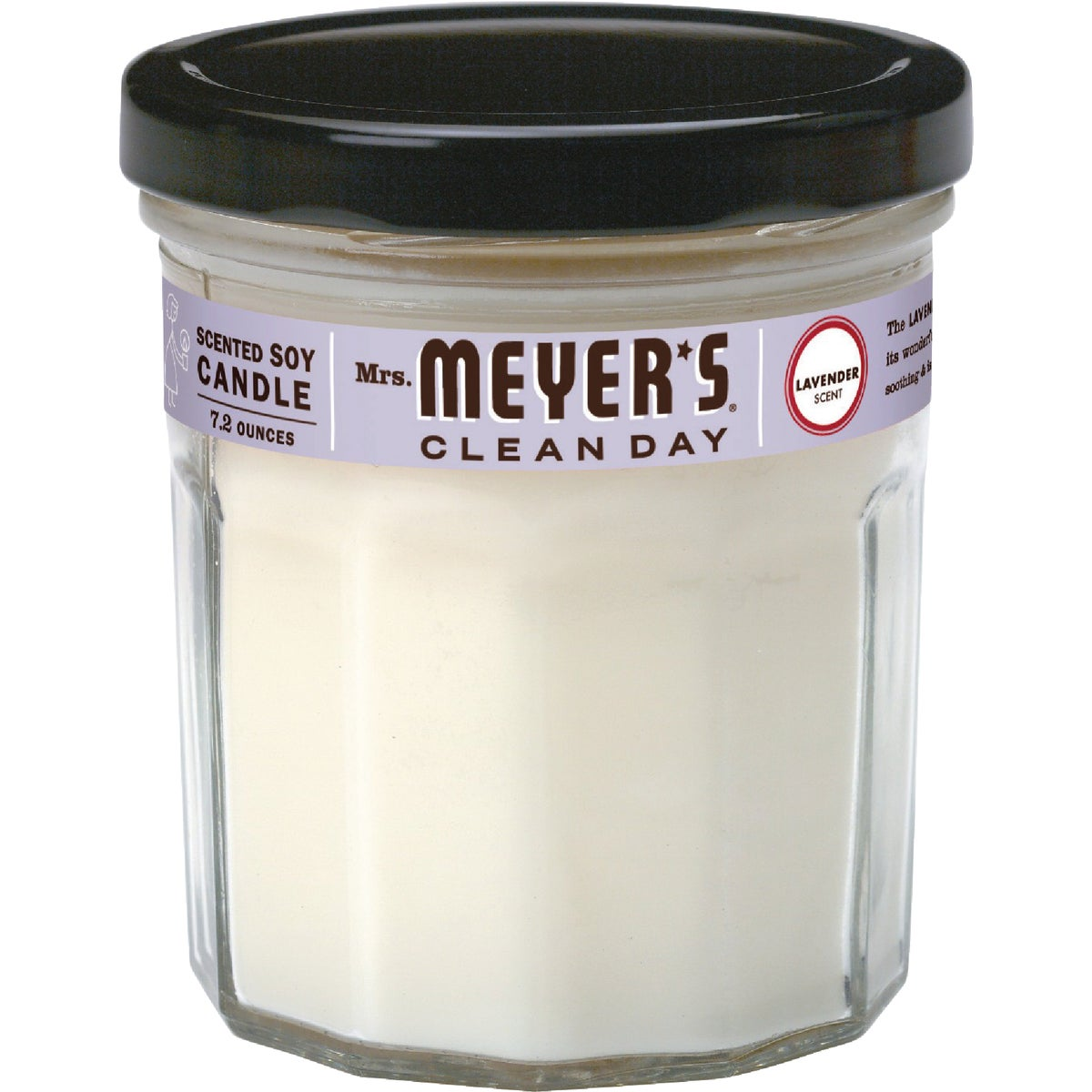 7.2OZ LAVNDR SOY CANDLE - 41116 by Mrs Meyers Clean Day