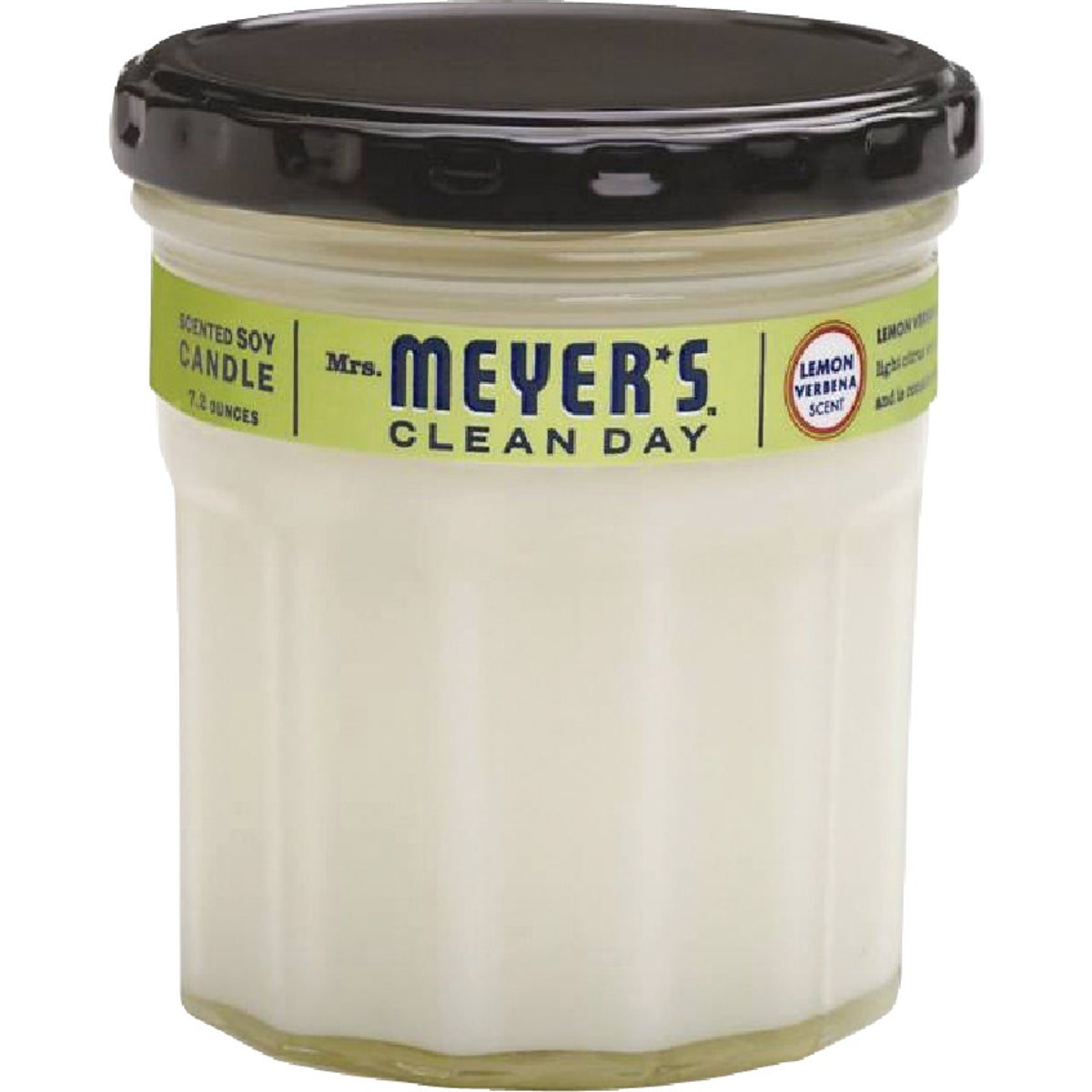 7.2OZ LEMON SOY CANDLE - 42116 by Mrs Meyers Clean Day