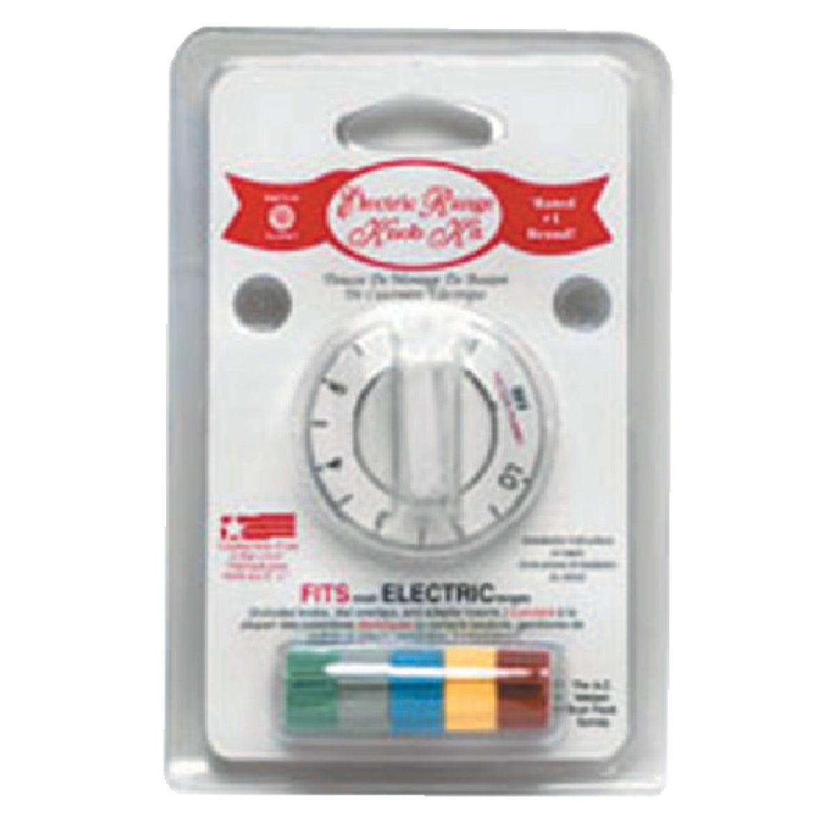 Range Kleen WHITE ELECTRIC KNOB KIT 8131