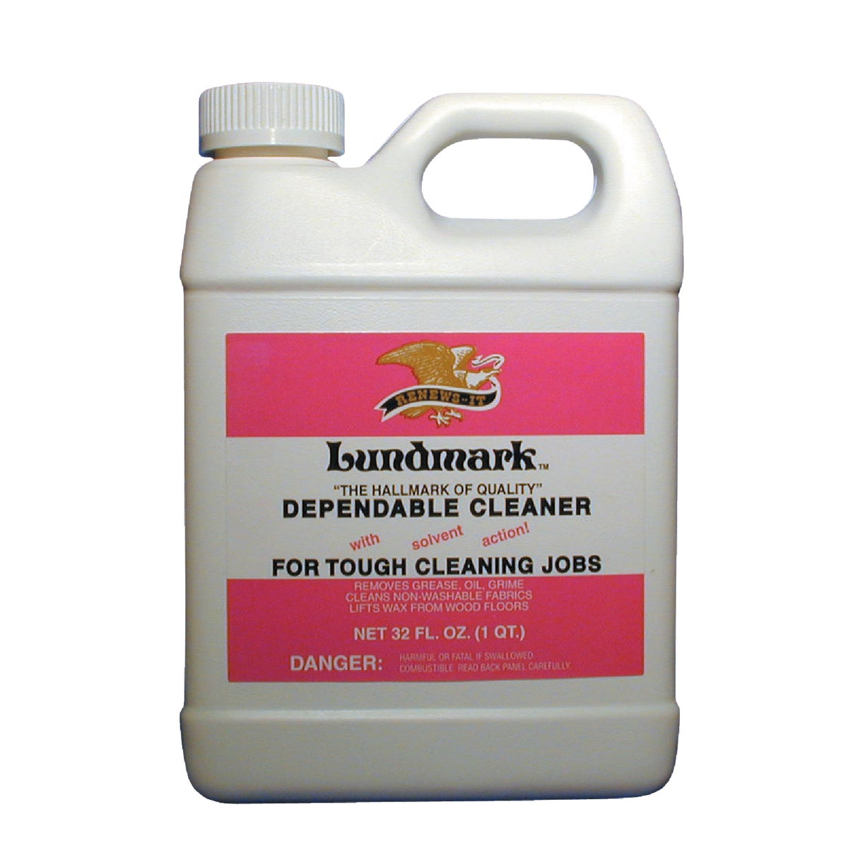 32OZ SOLVENT CLEANER - 3221F32-6 by Lundmark Wax Co