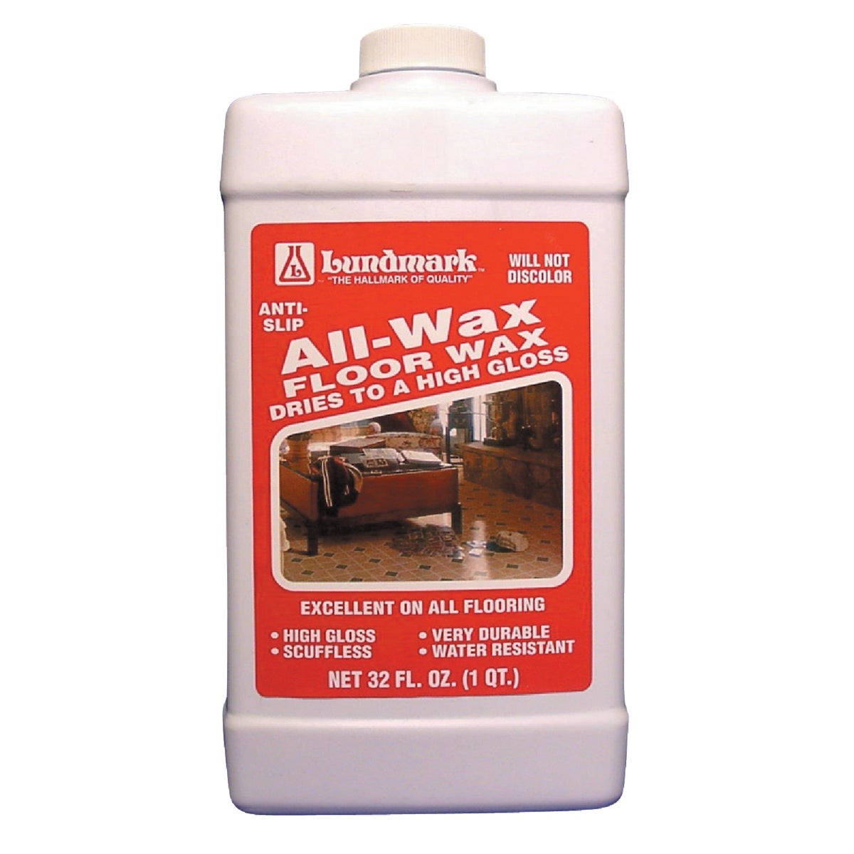 32OZ ALL-WAX FLOOR WAX - 3201F32-6 by Lundmark Wax Co