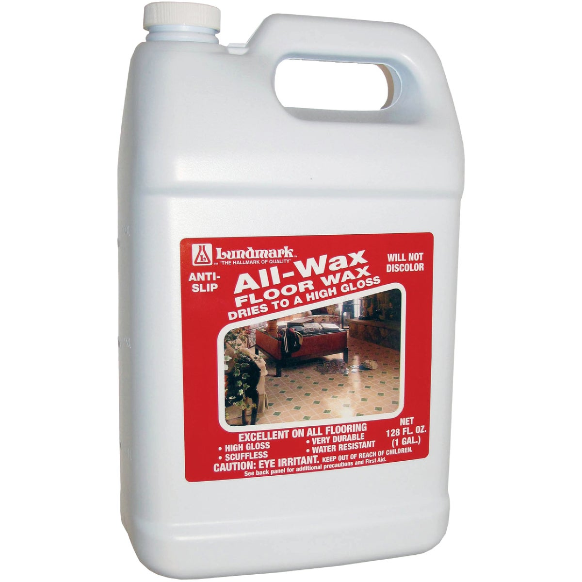 GALLON ALL-WAX FLOOR WAX - 3201G01-2 by Lundmark Wax Co