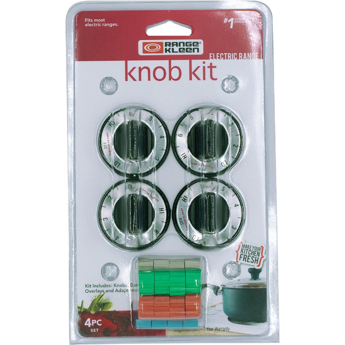 Range Kleen BLACK ELECTRIC KNOB KIT 8114