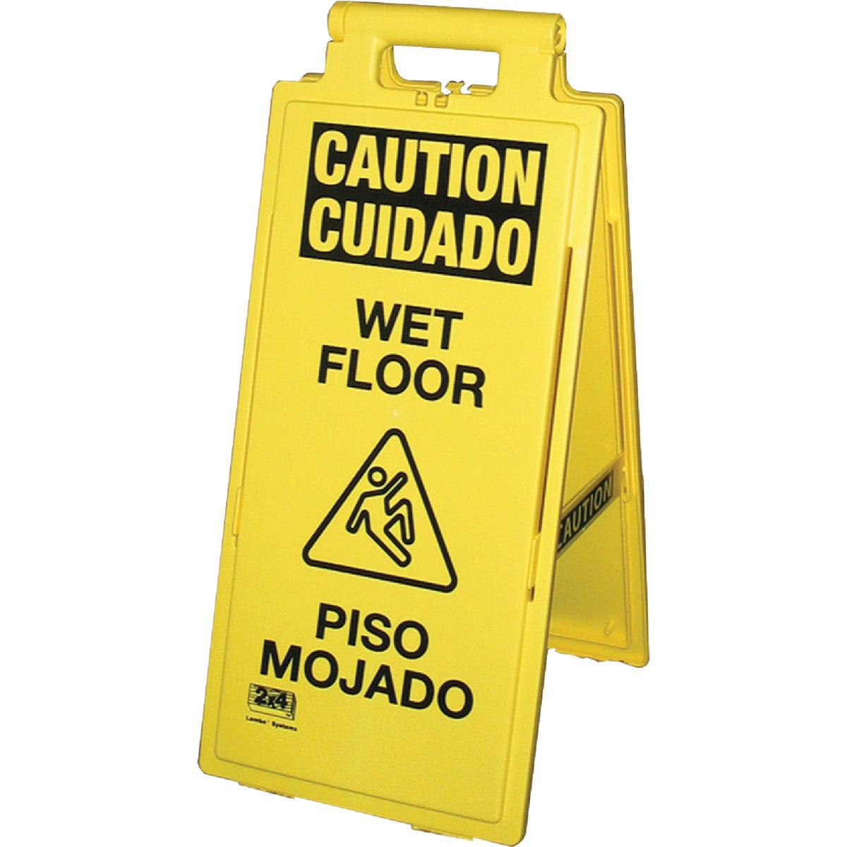 WET FLOOR SIGN ENG/SPAN - 24106-90 by Impact Prod