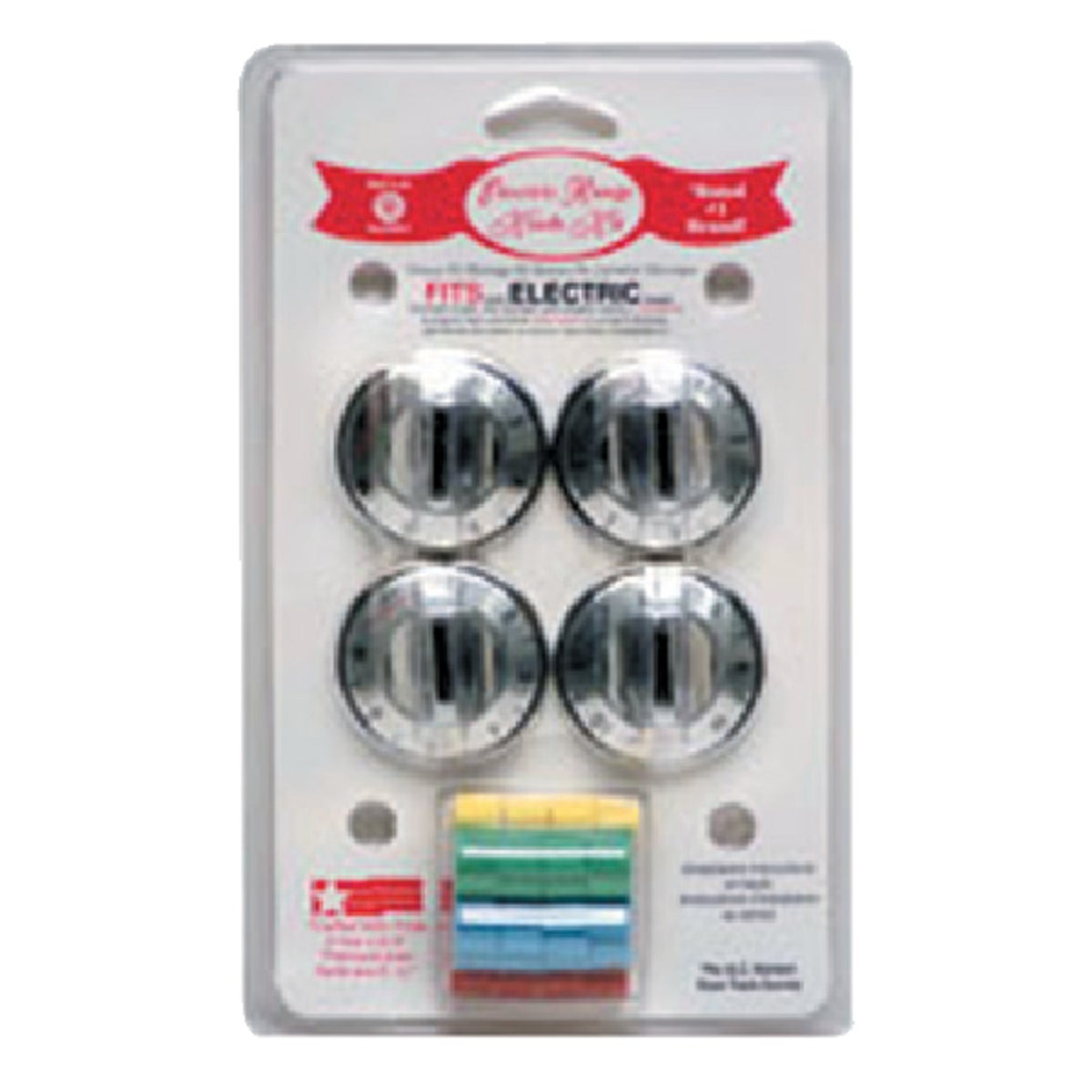 CHROME ELECTRIC KNOB KIT - 8124 by Range Kleen Mfg Inc