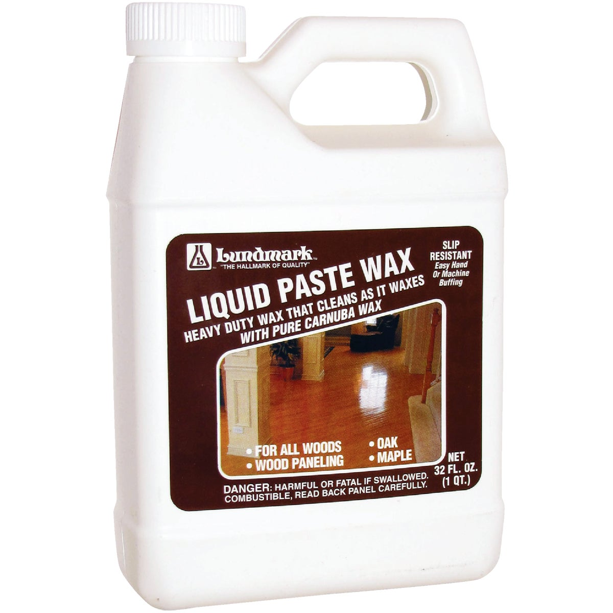 32OZ LIQUID PASTE WAX - 3208F32-6 by Lundmark Wax Co