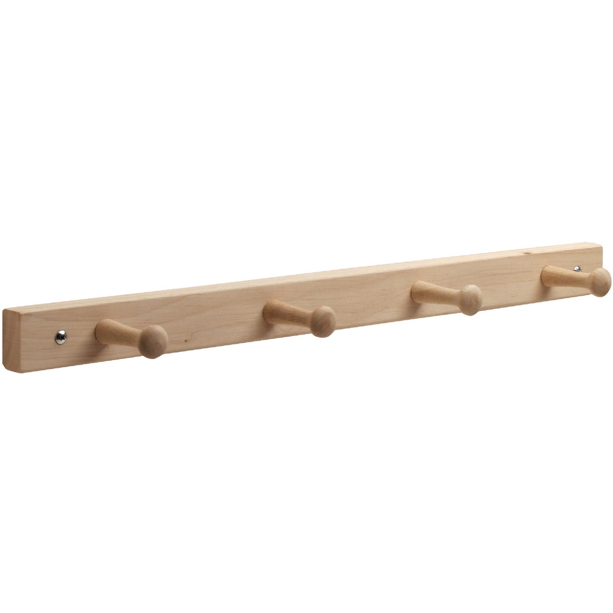 4 PEG WOOD RACK - 91518 by Interdesign Inc