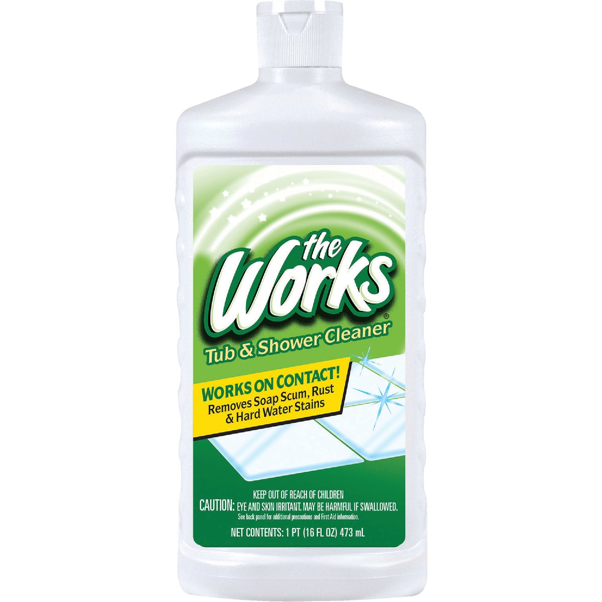TUB/SHOWER WORKS CLEANER - 03340WK by Homecare Labs/ Works