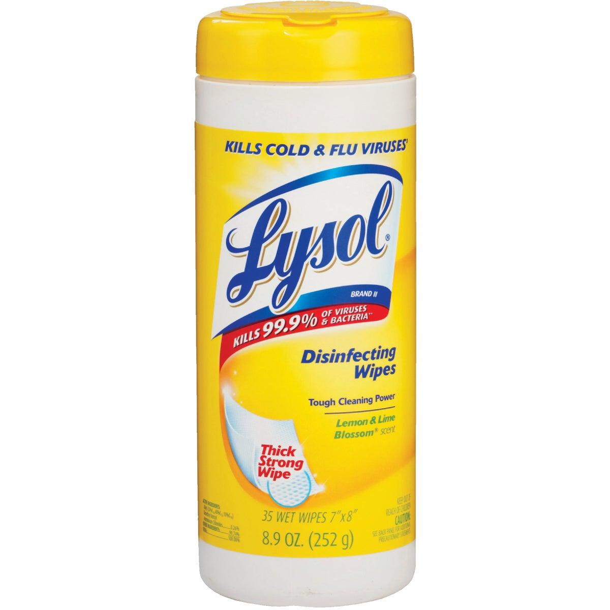 35Ct Lem/Lim Lysol Wipes