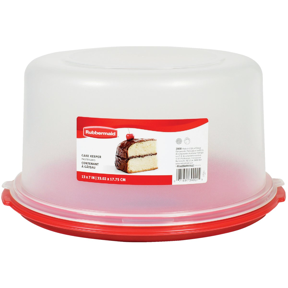CAKE SERVING KEEPER TRAY - 1777191 by Rubbermaid Home