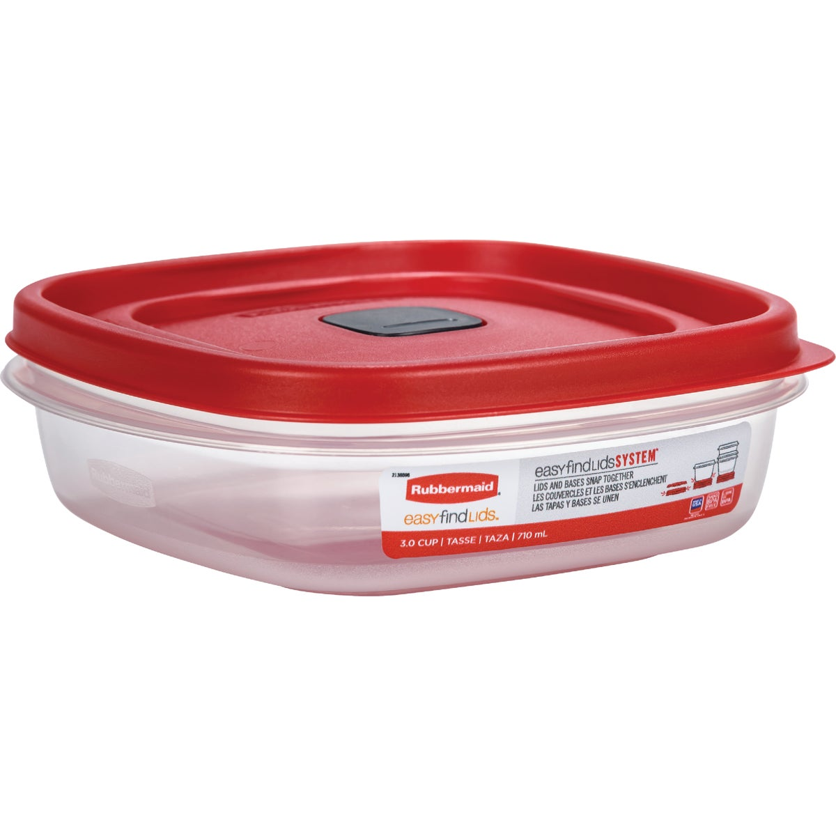 3 CUP FOOD CONTAINER - 1777086 by Rubbermaid Home