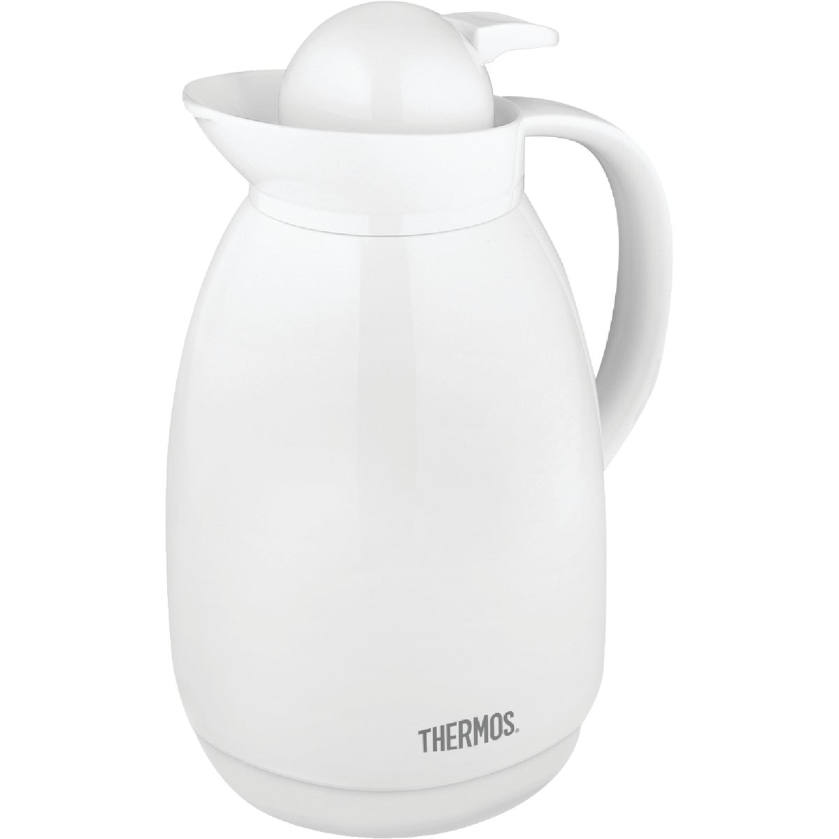 34OZ WHT VACUUM CARAFE - 710 by Thermos Co