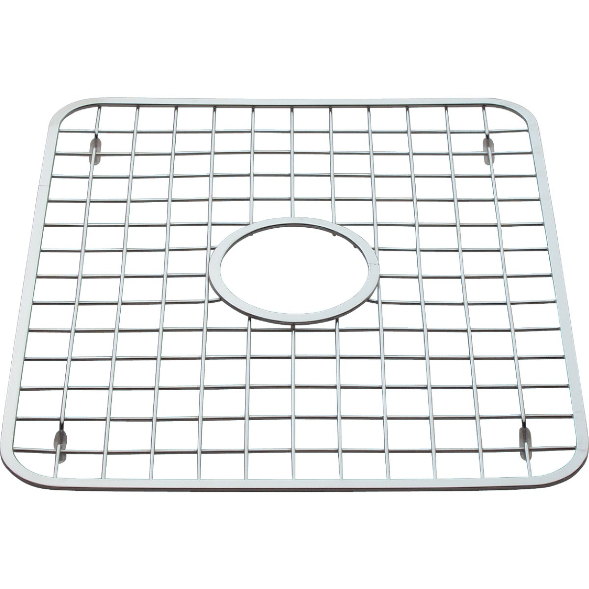 SINK GRID W/HOLE - 72102 by Interdesign Inc