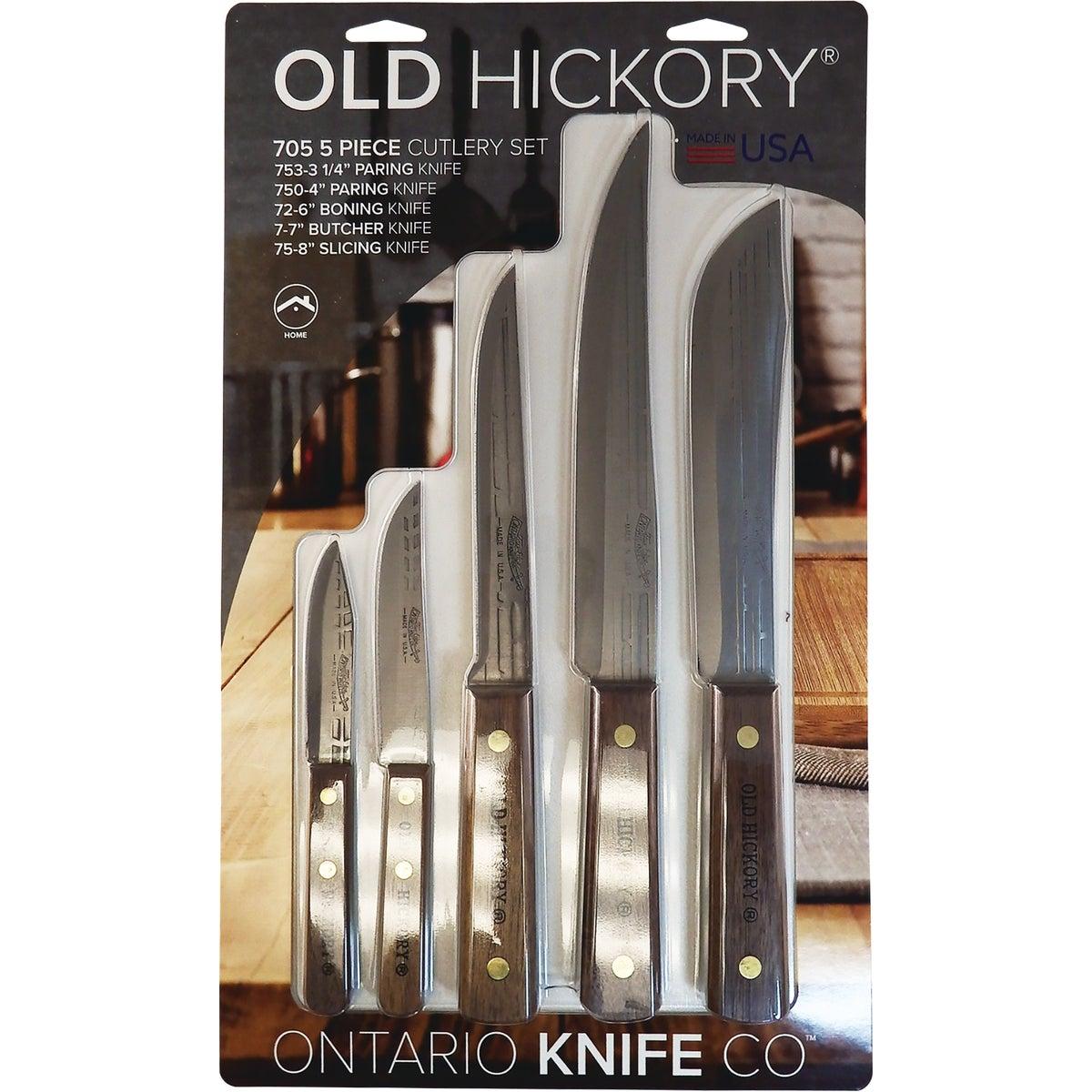 Ontario Knife Co 5 PIECE KNIFE SET 7180