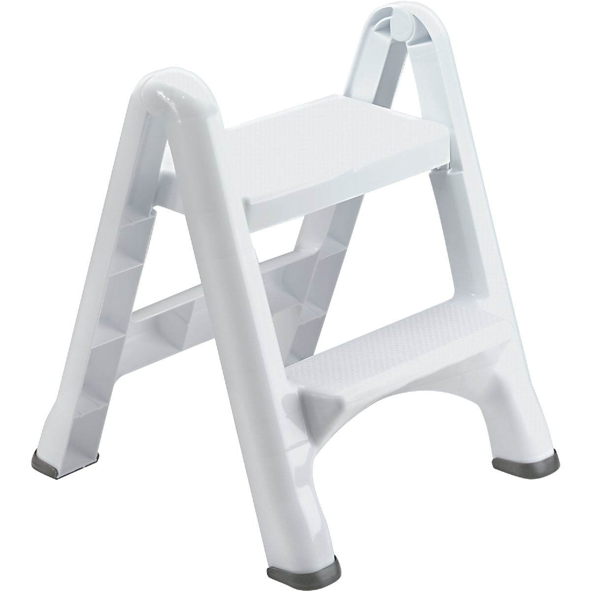 WHITE 2-STEP STOOL - 420903-WHT by Rubbermaid Home
