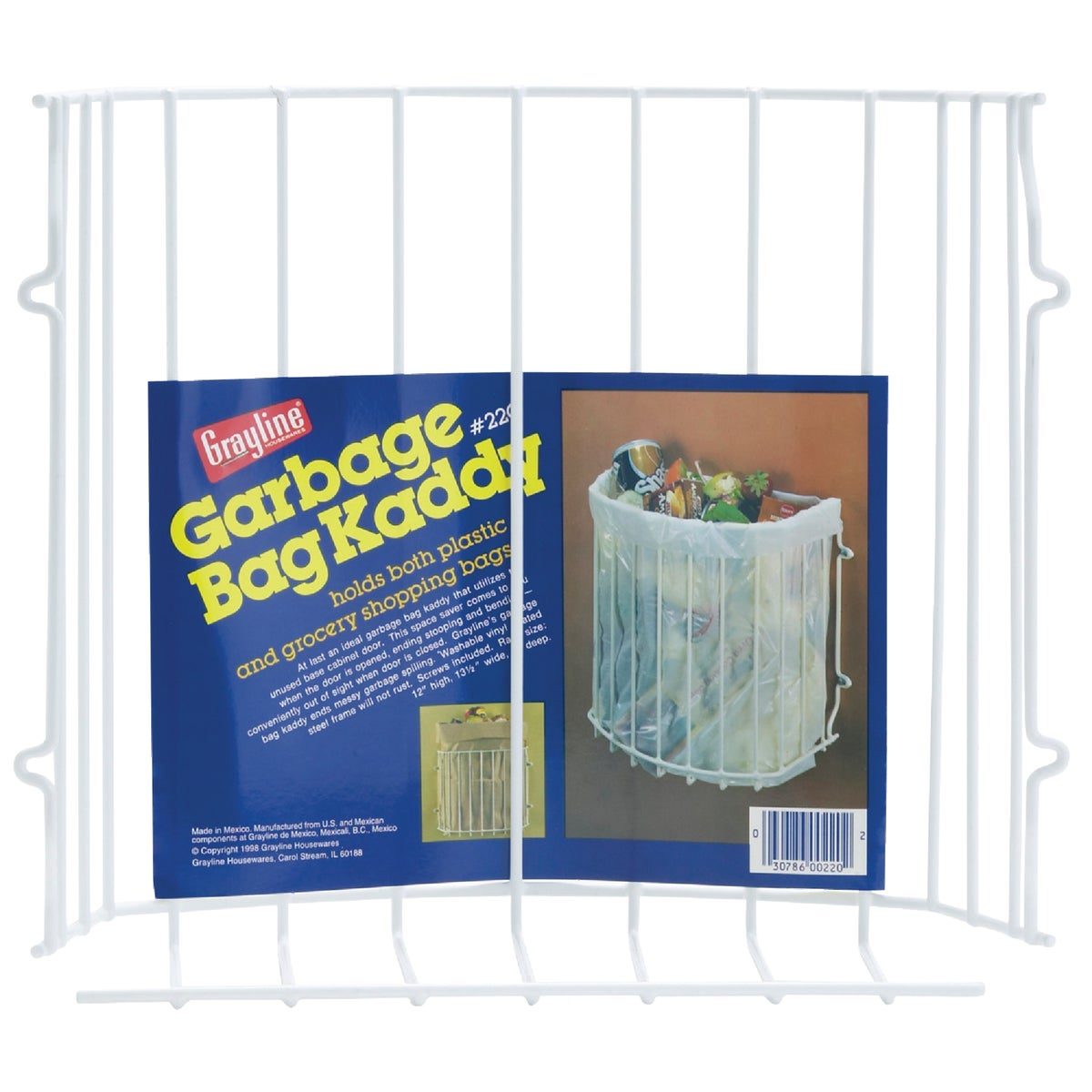 GARBAGE BAG HOLDER - 40220 by Panacea    Grayline