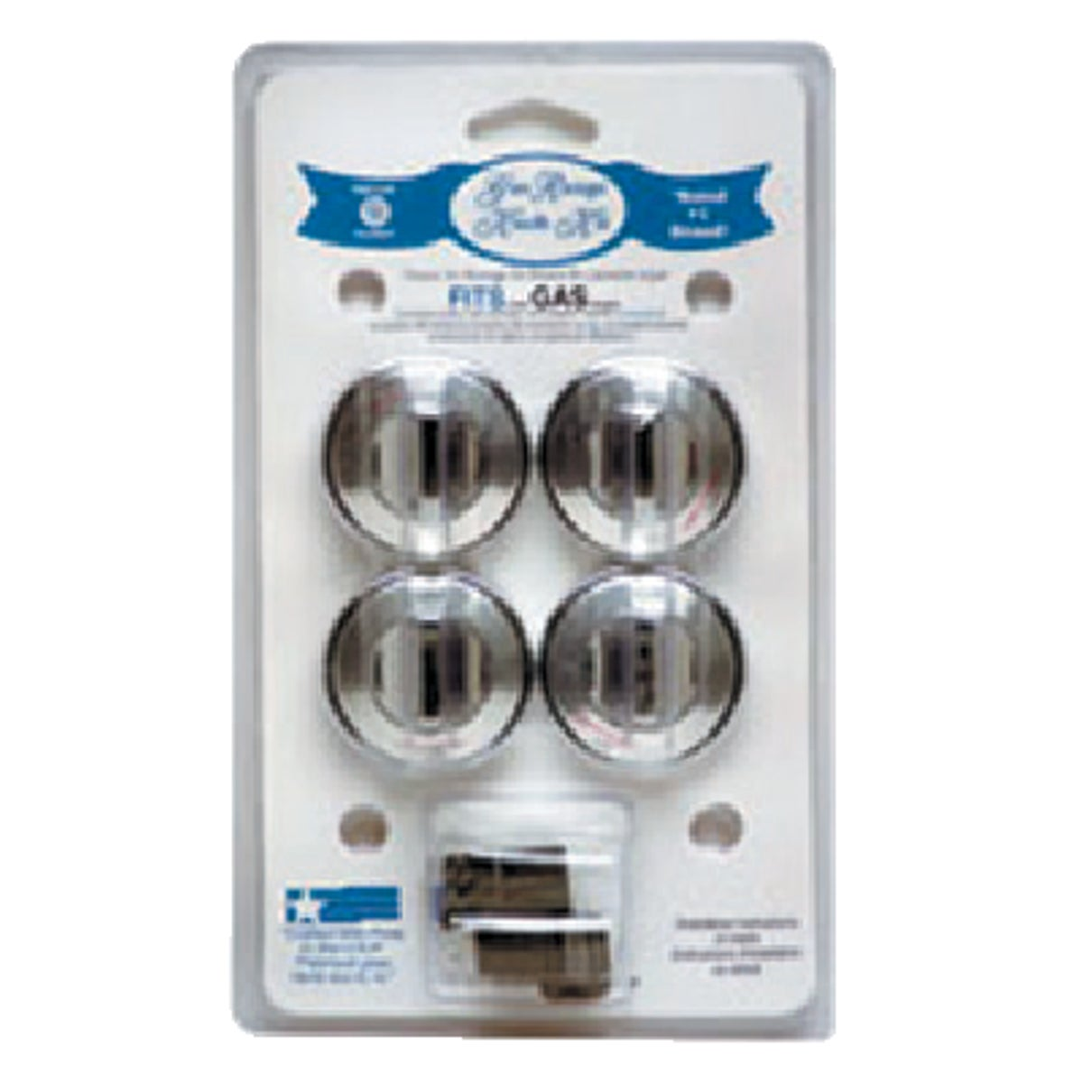 CHROME GAS KNOB - 8224 by Range Kleen Mfg Inc