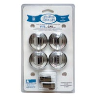 Range Kleen CHROME GAS KNOB 8224