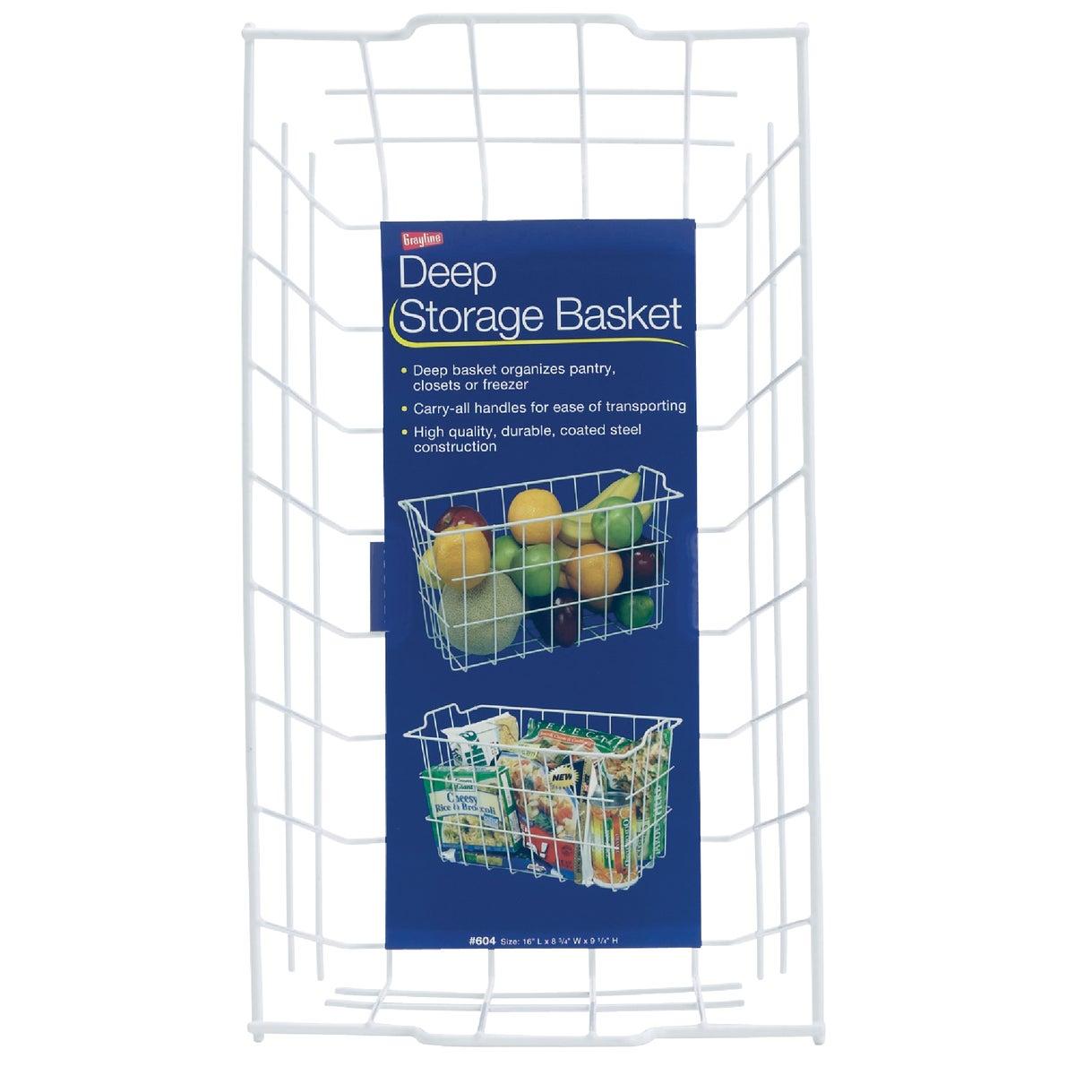 White Storage Basket