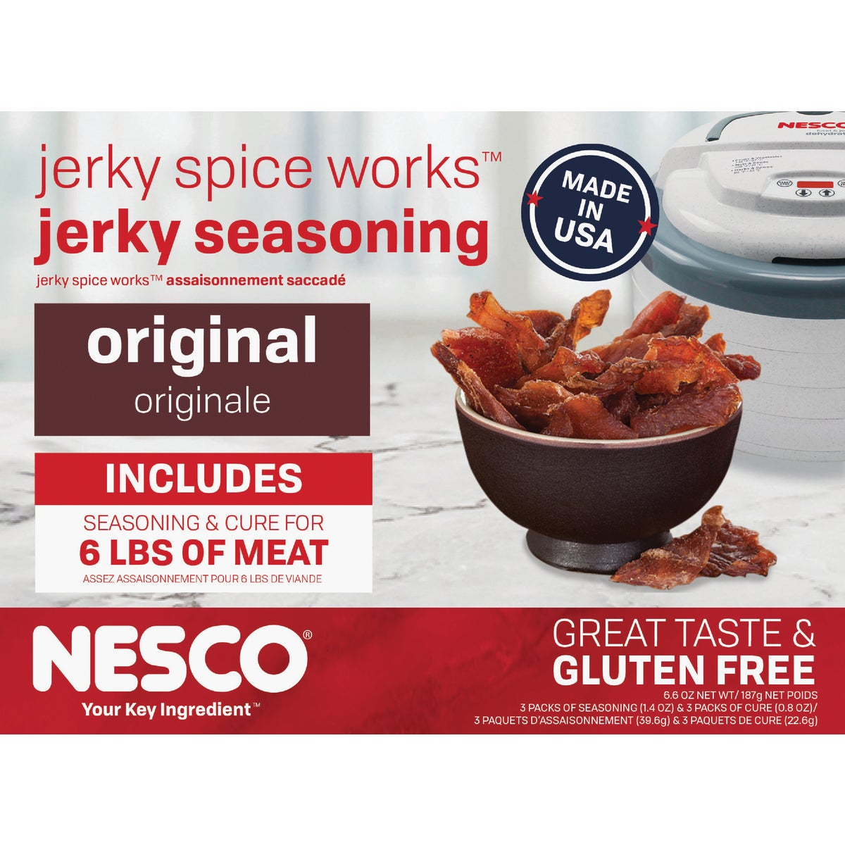 6CT JERKY SPICES - BJ-6 by Metal Ware Corp