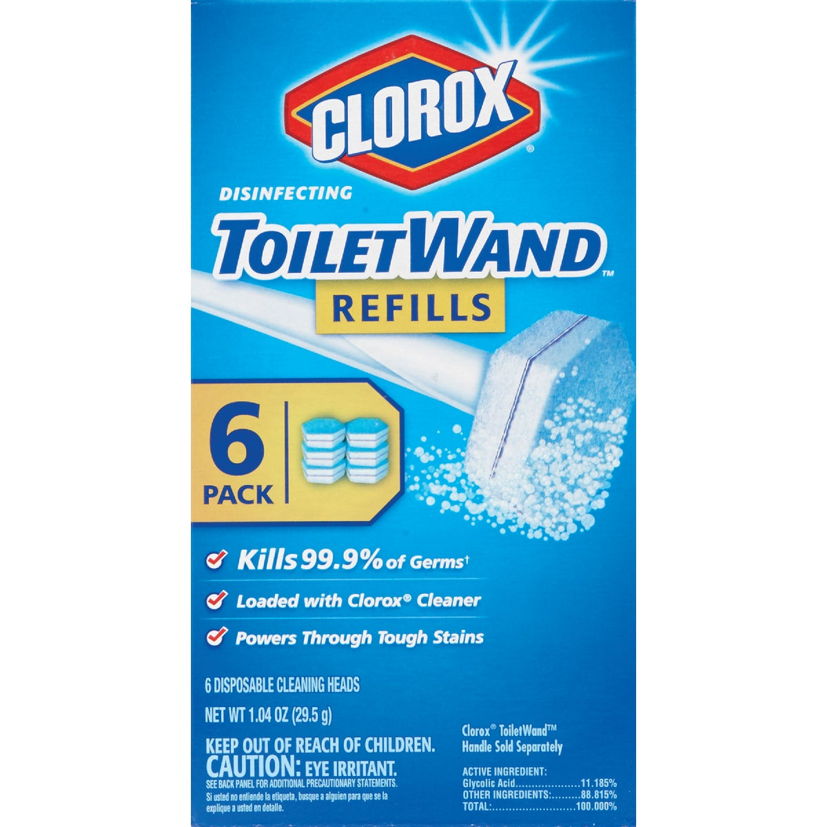 TOILETWAND REFILL - 14882 by Clorox/home Cleaning