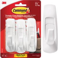 3M COMMAND LRG UTILITY HOOK 17003-VP-3PK