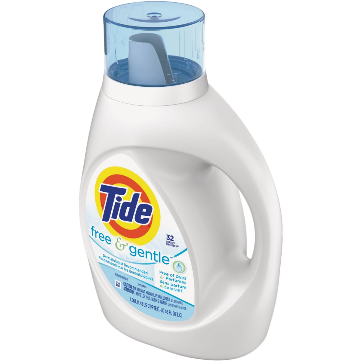 Tide Liquid Laundry Detergent Free 32 Load