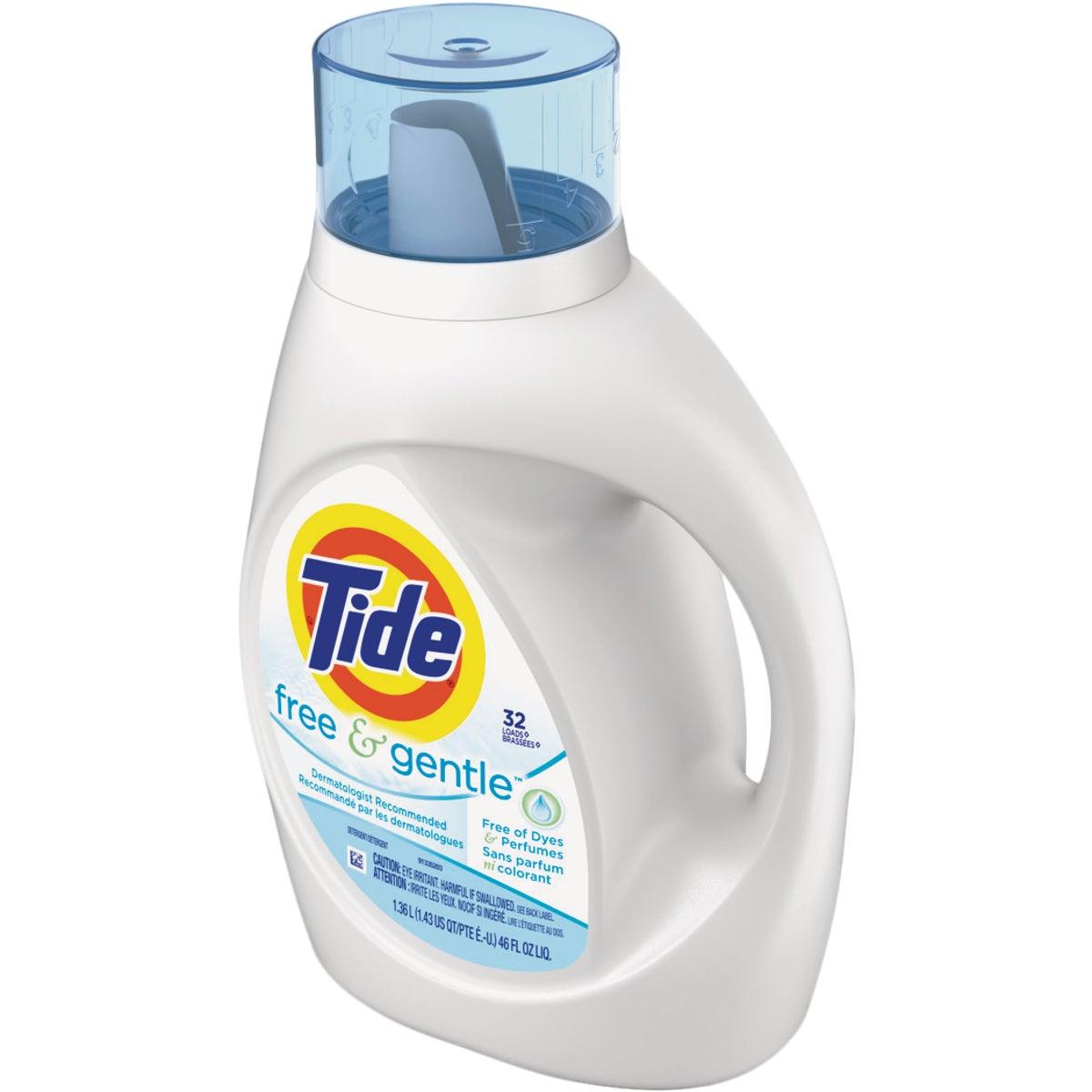 Tide Free & Gentle Liquid Laundry Detergent, 13885