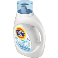 Tide Liquid Laundry Detergent Free 32 Load, 13885