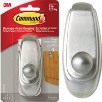 3M COMMAND LRG NICKEL HOOK 17063BN