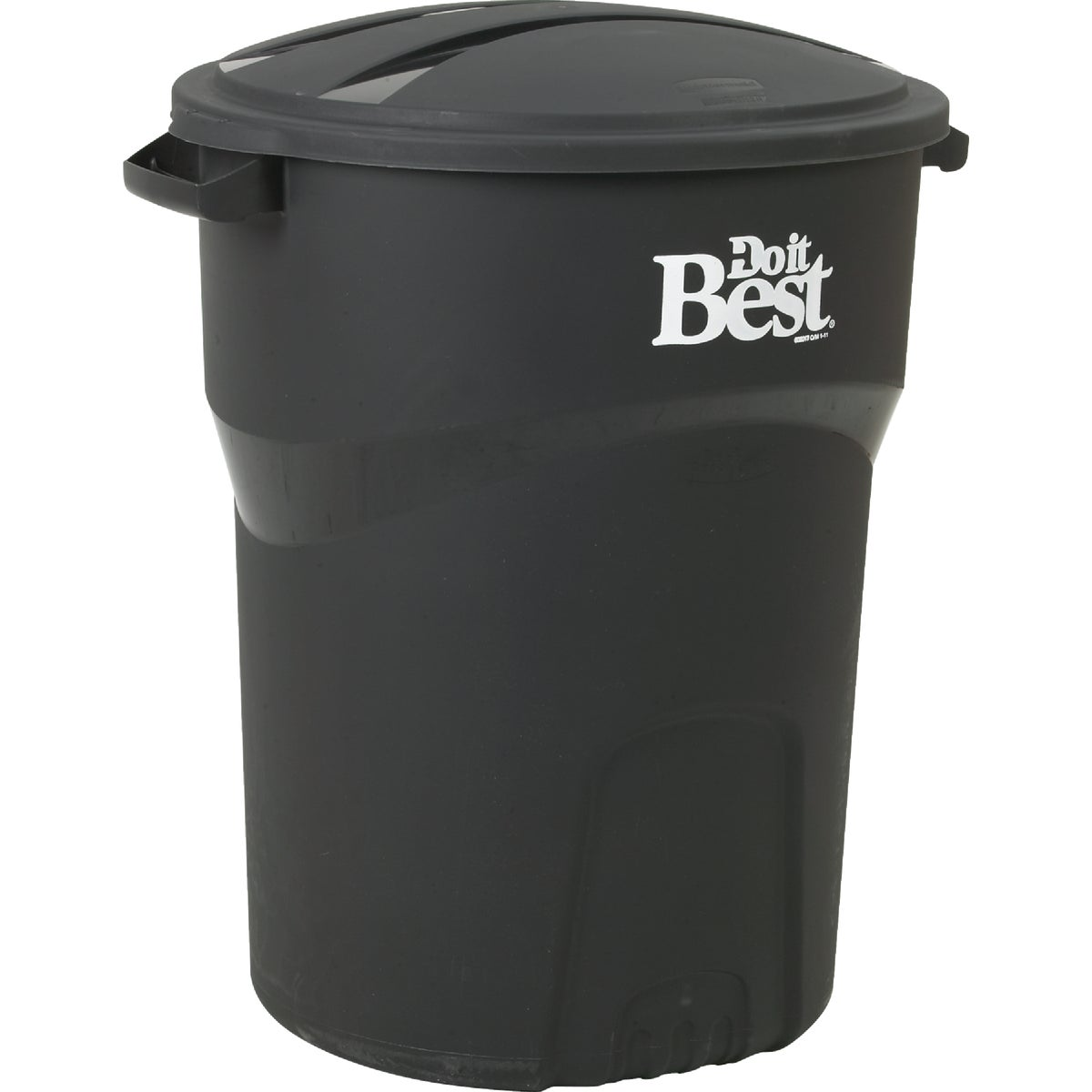 32GAL BLK TRASH CAN