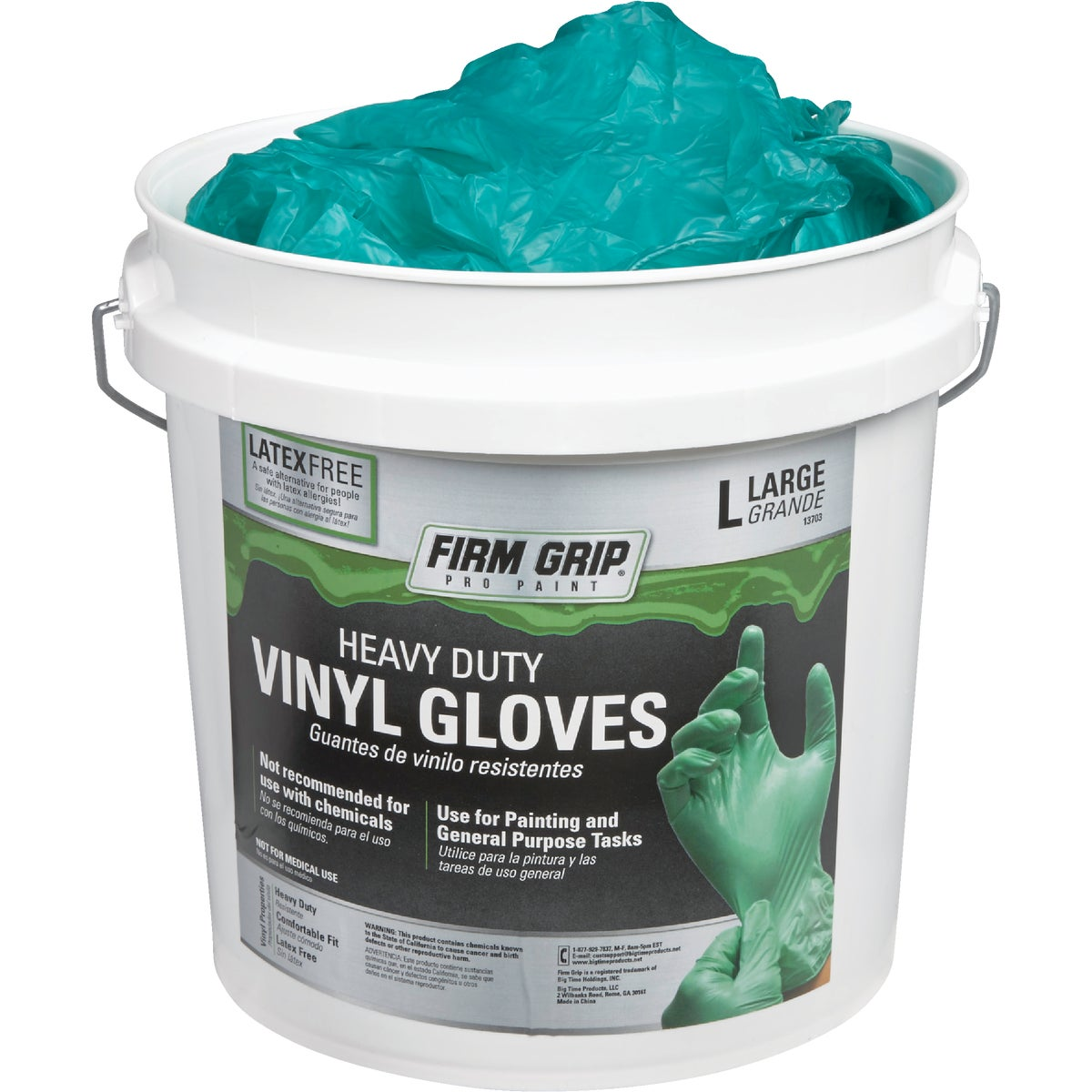 300CT LG HD VINYL GLOVE - 13703-300 by Big Time Prod  Un Du