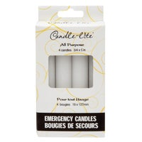 Candle-Lite 4PK EMERGENCY CANDLE 3745595