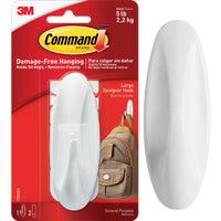 3M COMMAND WHT DESIGN HOOK 17083