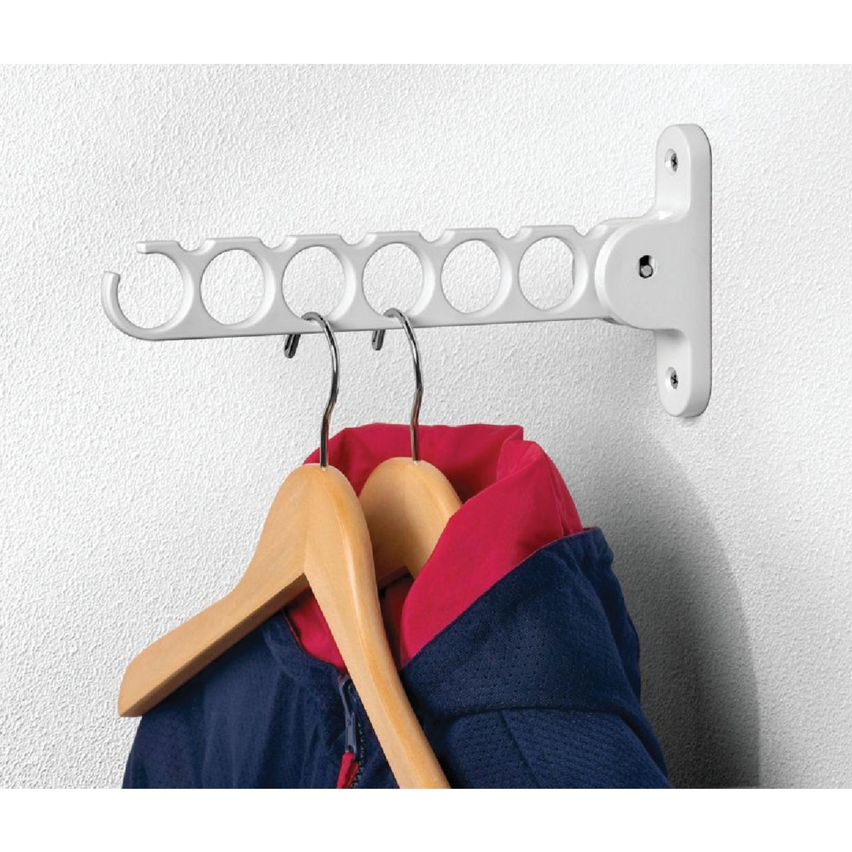 WHITE HANGER HOLDER