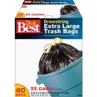 Berry Plastics 33GAL/40CT TRASH BAG 608440