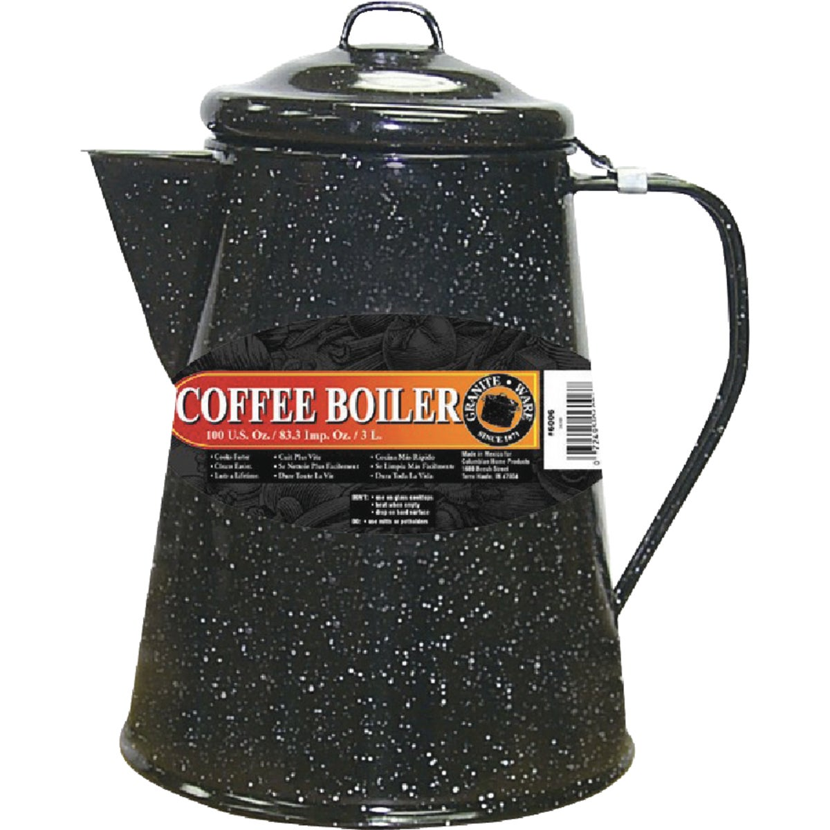 24 CUP COFFEE BOILER - 6006-1 by Columbian Home Prod