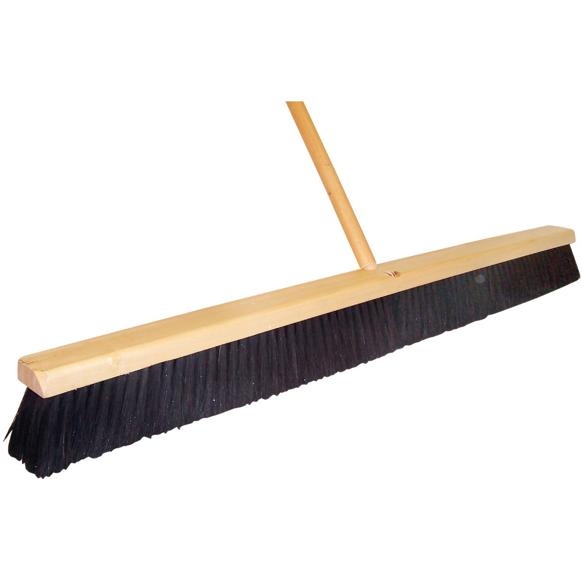 "24"" HORSEHAIR PUSH BROOM - 10603 by D Q B Ind"