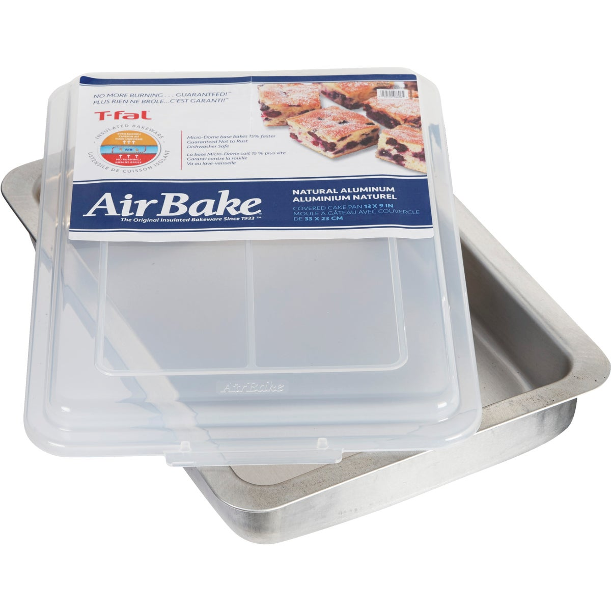 9X13 PAN W/COVER - 08606PA by T Fal Wearever